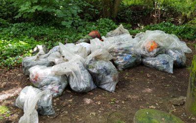 Waterways clean-up Castletown